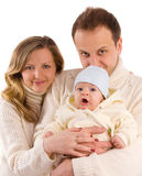 Beautiful happiness family Royalty Free Stock Photography