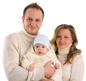 Beautiful happiness family Stock Photography