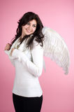 Beautiful happy angel Royalty Free Stock Photography