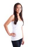Beautiful happy asian woman Stock Photo