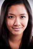 Beautiful happy asian woman Royalty Free Stock Photos