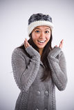 Beautiful happy asian woman Stock Photo