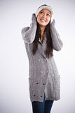Beautiful happy asian woman Royalty Free Stock Photography