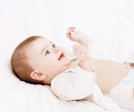Beautiful happy baby Royalty Free Stock Image