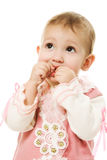 Beautiful happy baby stock images