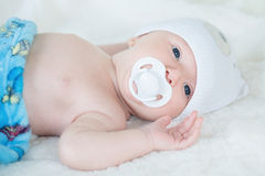 Beautiful happy baby Stock Photo