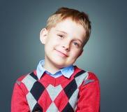 Beautiful happy boy Stock Image