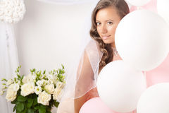 Beautiful Happy Bride Royalty Free Stock Photo