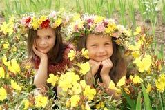 Beautiful happy children Stock Photo