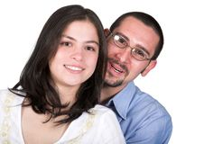 Beautiful happy couple Royalty Free Stock Photos