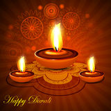 Beautiful happy diwali rangoli colorful presentati Royalty Free Stock Photos