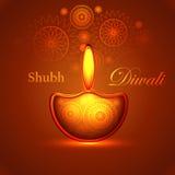 Beautiful happy diwali shiny festival background. Beautiful happy diwali shiny diya bright colorful hindu festival background design Stock Photos
