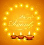 Beautiful Happy Diwali text for festival celebration Stock Photos