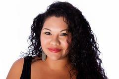 Beautiful happy face of latina Stock Photo