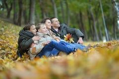 Beautiful happy family Royalty Free Stock Photos