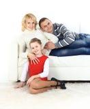 Beautiful happy family Stock Photography
