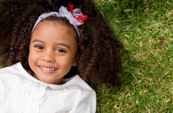 Beautiful happy girl Royalty Free Stock Images
