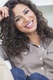 Beautiful Happy Hispanic Woman Smiling Royalty Free Stock Image