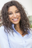 Beautiful Happy Hispanic Woman Smiling Stock Images