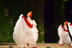 Beautiful happy Hispanic women Stock Images