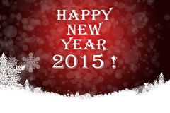 Beautiful Happy new year background. With snowflakes Royalty Free Illustration