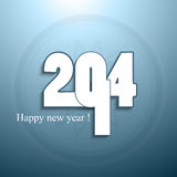 Beautiful happy new year 2014 fantastic. Background Royalty Free Illustration