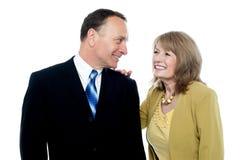 Beautiful happy senior couple Royalty Free Stock Photography