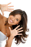 Beautiful happy woman Royalty Free Stock Image