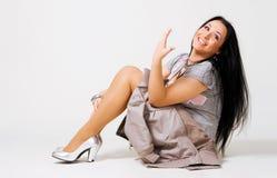 Beautiful happy woman Royalty Free Stock Photos