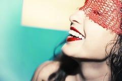 Beautiful happy woman Stock Photography