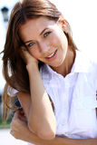 Beautiful happy woman Stock Image