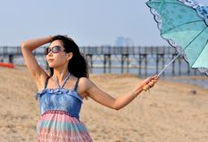 Beautiful Happy Young Asian Chinese Woman or Girl Stock Photos