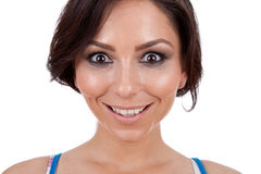 Beautiful happy young woman Royalty Free Stock Photos