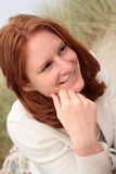 A Beautiful Happy Young Woman Royalty Free Stock Photo