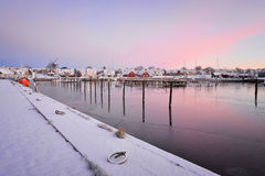 Beautiful harbor Royalty Free Stock Image