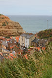 Beautiful harbourside village, North Yorkshire Stock Images