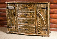 Beautiful hard wood furniture Royalty Free Stock Photo