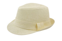 Beautiful hat isolated Stock Images