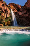 Beautiful Havasu Falls, Supai, Arizona, United States Stock Photos