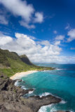 Beautiful Hawaii coastline Stock Photography