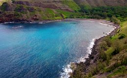 Beautiful Hawaiian coast Royalty Free Stock Photo
