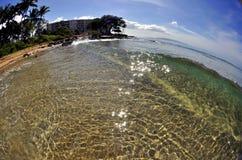Beautiful Hawaiian Shoreline Royalty Free Stock Images