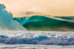 Beautiful Hawaiian Waves on the North Shore Royalty Free Stock Photography