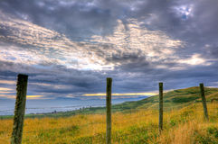 Beautiful hdr landscape Royalty Free Stock Images