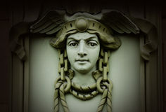 Free Beautiful Head Of Mercury (Hermes) ,ancient God Of Commerce Royalty Free Stock Photos - 67581748
