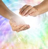 Beautiful Healing Vortex Stock Photo