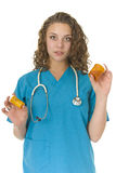 Beautiful health Care Professional Royalty Free Stock Image
