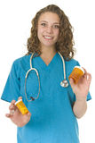 Beautiful health Care Professional Royalty Free Stock Images