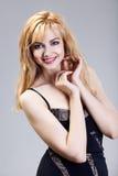 Beautiful health woman face Royalty Free Stock Photos