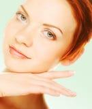 Beautiful health woman face Royalty Free Stock Image